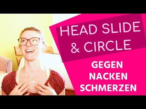 HEAD SLIDE & CIRCLE 🌺 4 Ideen gegen Nackenschmerzen // Hannah Muskelschmerzerfahrung