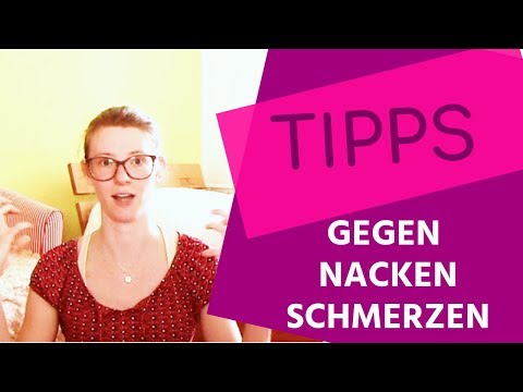 TIPPS zu Übungen gegen Nackenschmerzen 🌺 4 Ideen gegen Nackenverspannungen // Hannah