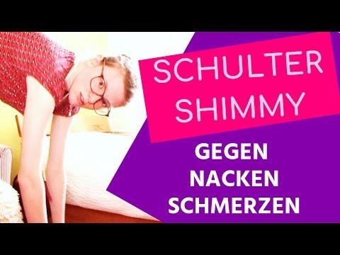 SCHULTER SHIMMY gegen Nackenschmerzen 🌺 4 Ideen gegen Nackenverspannungen