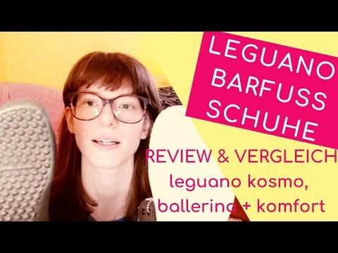 REVIEW & ERFAHRUNGSBERICHT DER BARFUßSCHUHE leguano kosmo, leguano ballerina & leguano ballerina