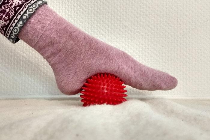 Igelball Fußmassage