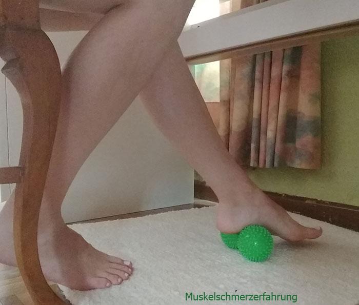 Igelrolle Fußmassage