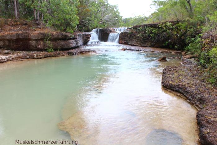 Cape York Australien Wasserfall