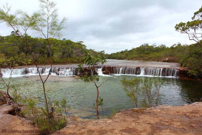 Tropischer Fluss