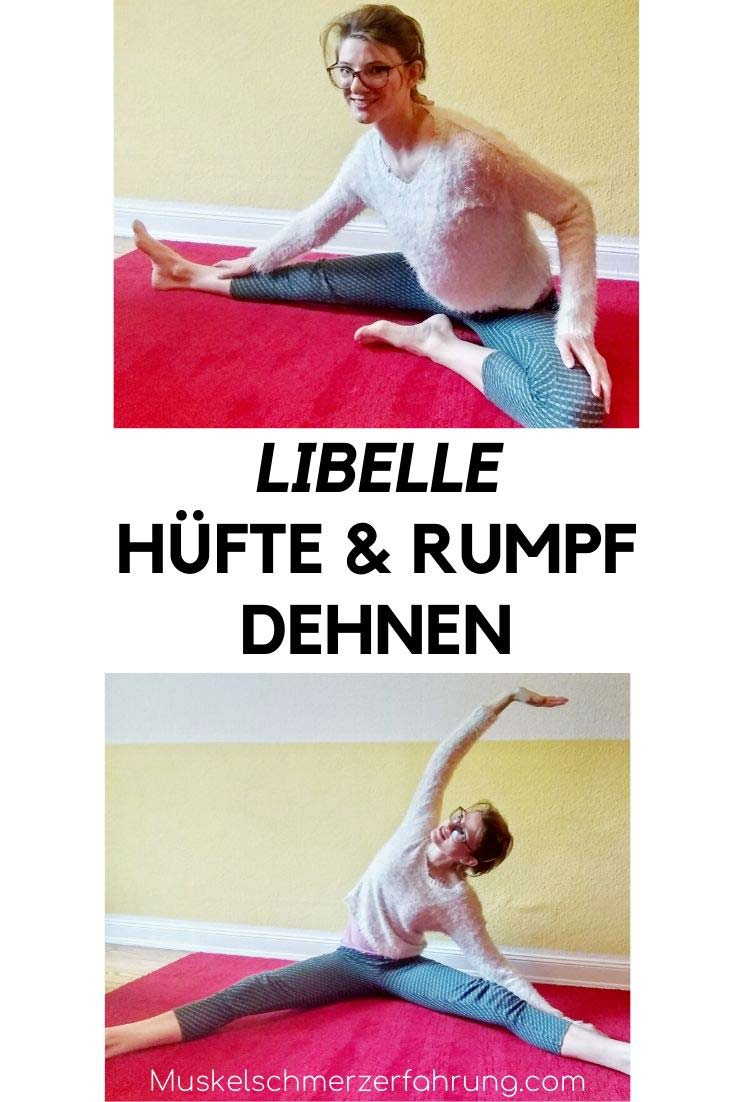 """""""Libelle"""" Hüfte und Rumpf dehnen"""
