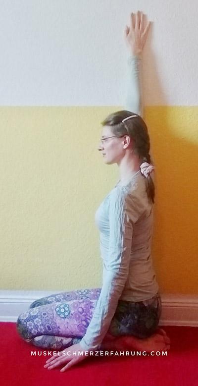 Arm und Oberkörperseite dehnen