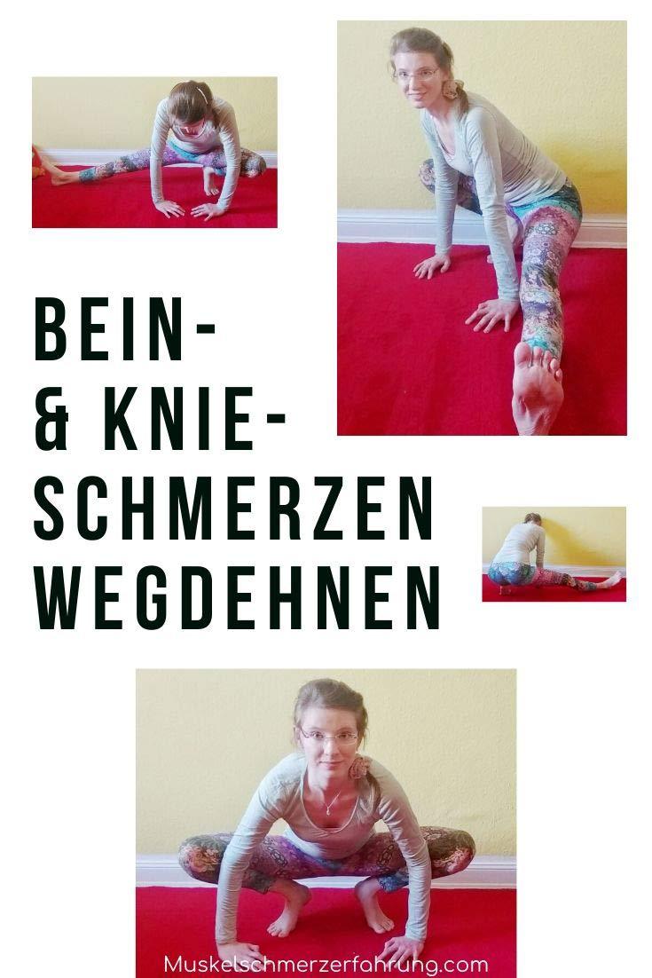 Bein- und Knieschmerzen wegdehnen