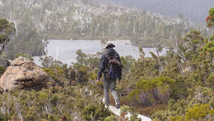 Wanderung in der Einsamkeit