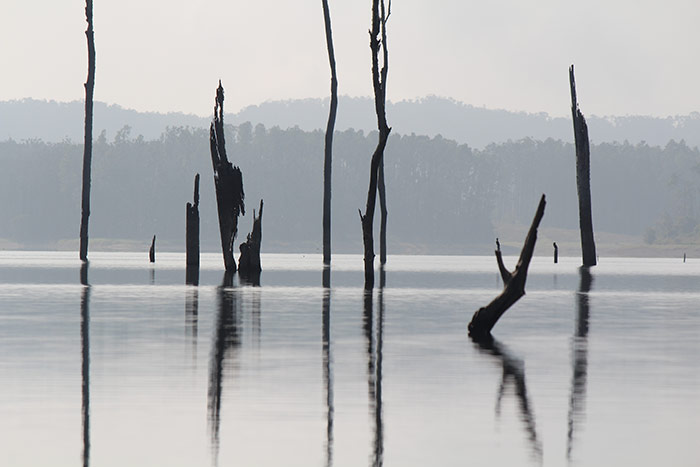 Ruinen im Wasser